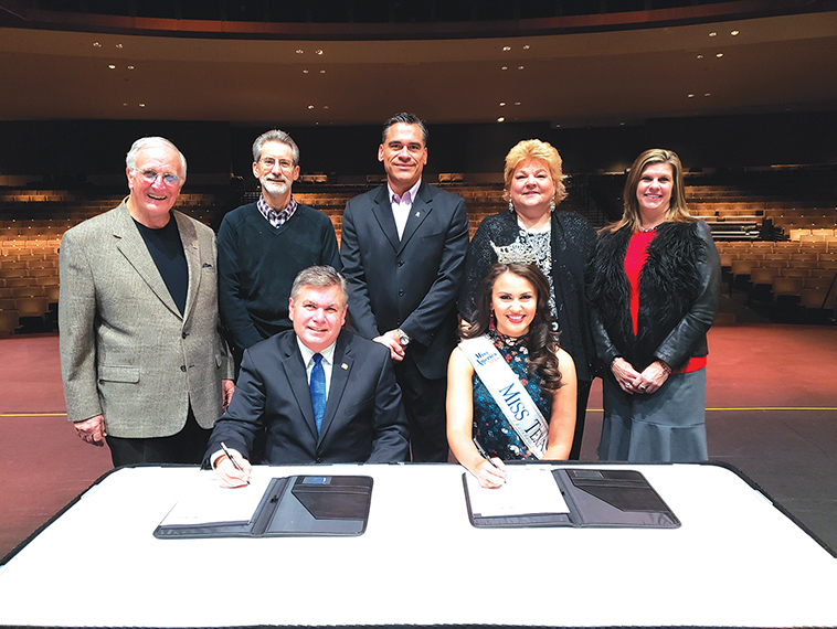Miss Texas Pageant extends contract with Eisemann Center
