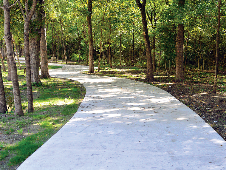 Spring Creek Nature Area perimeter trail is complete
