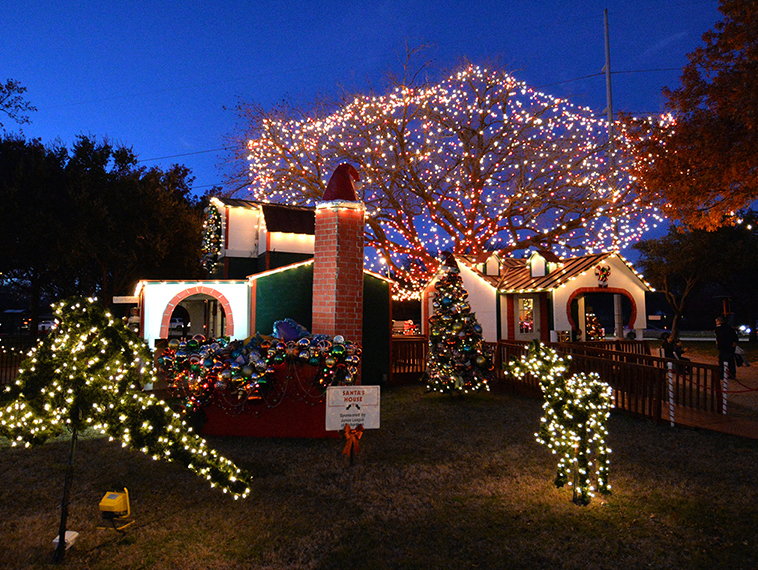 Thank you to Santa's Village volunteers