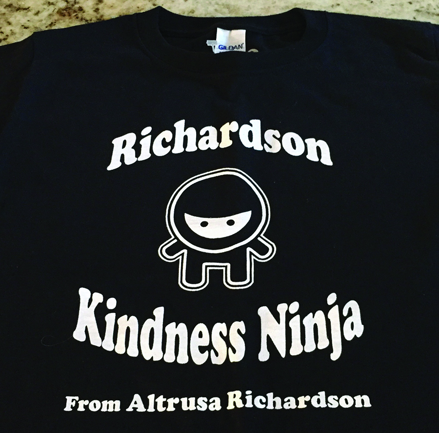 "Be a ""Kindness Ninja"" April 5-6"