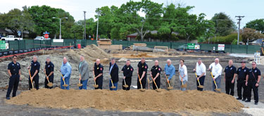 Groundbreaking Held For Fire Station 3