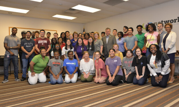 Summer Interns Spend Day of Service at Network