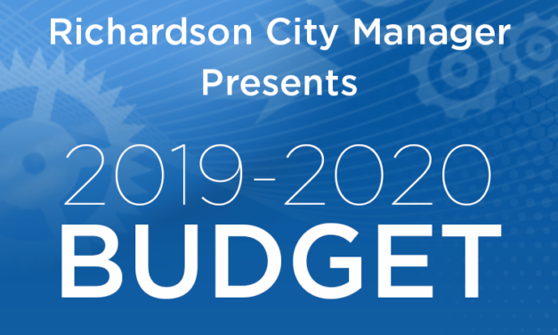Budget Presented to City Council; Tax Rate Hearing is Aug. 19