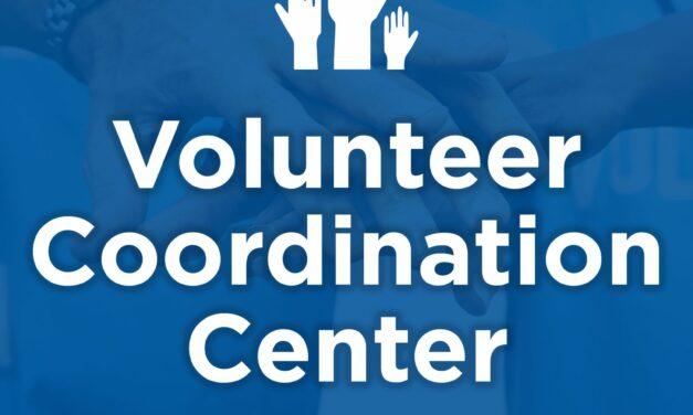 Richardson Announces Volunteer Coordination Center to Open