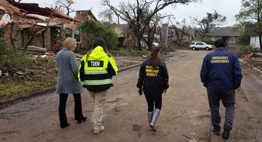 FEMA Tours Richardson