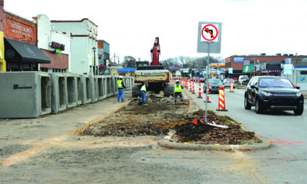 Lane closures continue as part of Main Street project