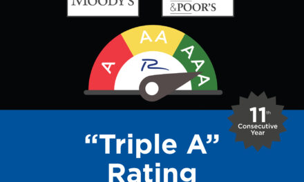 RICHARDSON MAINTAINS HIGHEST CREDIT RATING FROM MOODY'S AND S&P FOR 11TH CONSECUTIVE YEAR