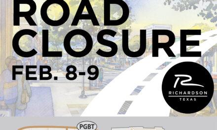 Main street closure feb. 8-9