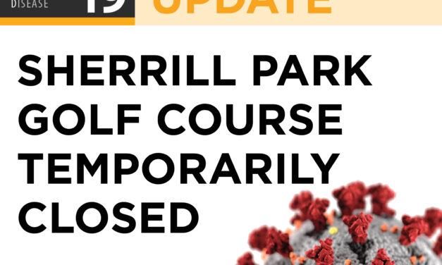 Sherrill Park Golf Course Temporarily Closing