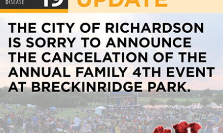Richardson's Annual Family Fourth Celebration Canceled