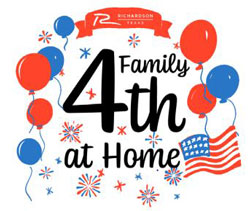 """""""Family 4th at Home"""" Features Several Activities"""