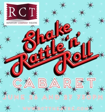 """Repertory Company Theatre Reopens with """"Shake, Rattle 'n Roll"""" June 26-27"""