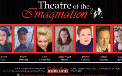 "Richardson Theatre Centre Posts Second Episode of ""Theatre of the Imagination"""