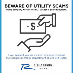Beware of Utility Scams