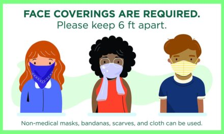 Governor's Order Requires Facial Coverings
