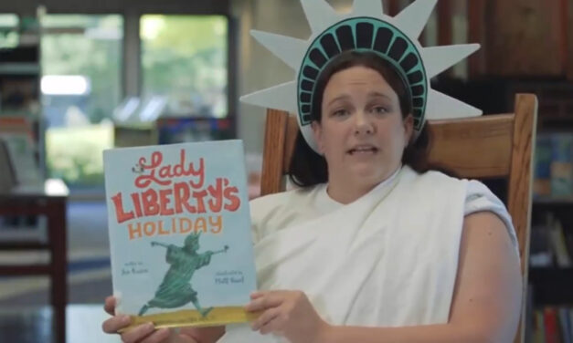 """Library Hosts """"Lady Liberty"""" Storytime Online"""