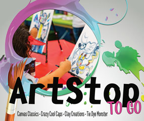 """ArtStop To Go"" Boxes Bring Cottonwood Art Festival to Kids"