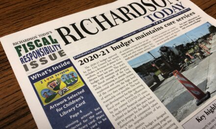 Richardson Today in Mailboxes this Weekend