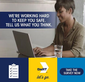 DART Conducting Survey Related to COVID-19 Service