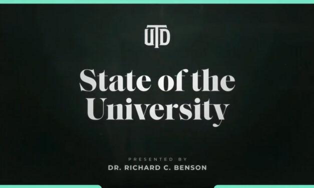 "UT Dallas Presents Virtual ""State of the University"""